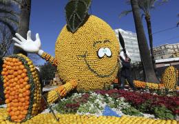 «Фестиваль лимонов» во Франции