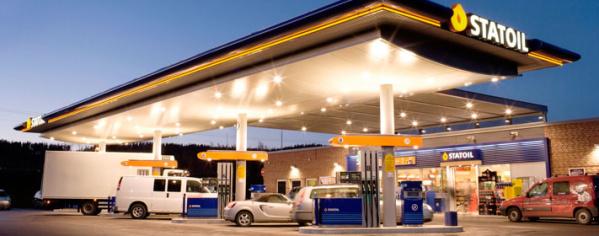 В Кукрузе ограбили заправку Statoil