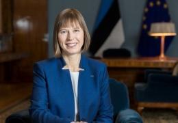 Кальюлайд поздравила Путина с переизбранием на пост президента РФ