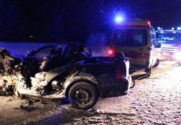 В ДТП в волости Вайвара погиб ребенок, еще пять человек пострадали