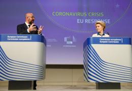 Евросоюз представил план по снятию введенных из-за коронавируса ограничений