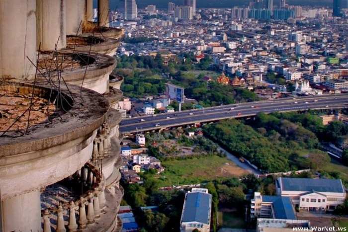 Sathorn Unique - самый высокий заброшенный небоскреб в мире (25 фото)