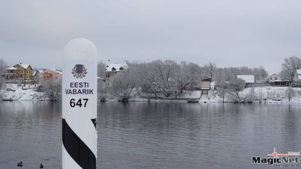 Сухопутная граница Эстонии с Россией полностью размечена