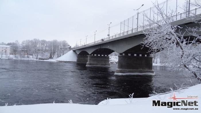Эстония и Россия выяснят стоимость нового моста через Нарову