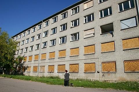 Нарва опять пытается продать непользующуюся спросом недвижимость