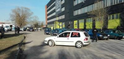 Автопробег в честь Дня Победы в Таллине был сорван полицией