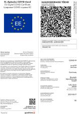 Департамент государственных инфосистем: было бы разумно связать ID-карту и COVID-сертификат