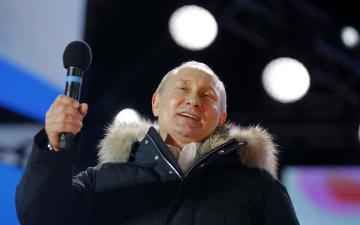 Путин выиграл выборы президента РФ с личным рекордом