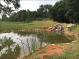 Мужик три года строил себе пруд