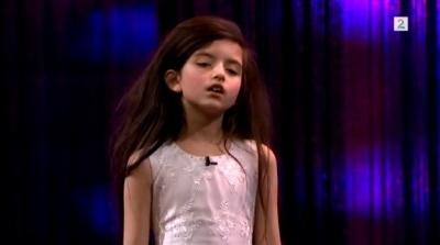 8-летняя Анджелина Джордан поразит любого исполнением песни Fly Me To The Moon