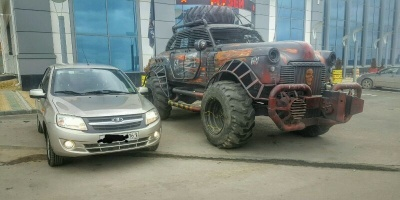 "Суровая тачка фаната ""Twisted Metal"""