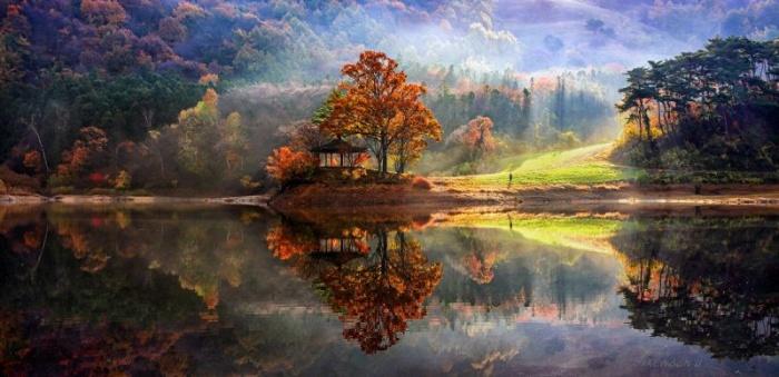 Поразительные пейзажи Jaewoon U