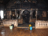 ФОТО: 75% пострадавших в результате пожара в церкви в Нарва-Йыэсуу икон удастся восстановить