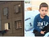 В Ташкенте поймали выпавшего с 5 этажа ребенка