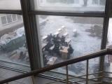 Московским курсантам МВД провели занятие на улице
