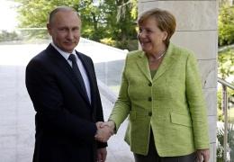 Путин 18 августа посетит Германию и встретится с Меркель