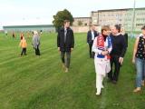 Керсти Кальюлайд пришла на матч ЧЭ по футболу в Нарве