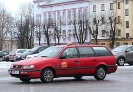 Таксисты собрались на Петровской и сигналили депутатам