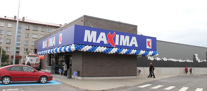 Видео. В Нарве открылся новый магазин Maxima