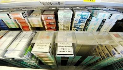 Контрабанда сигарет в Эстонию растет