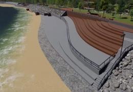 ВИДЕО: променад в Силламяэ построят к концу 2020 года