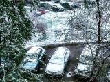 Снегопад в Мурманской области