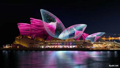Световое шоу в Сиднее
