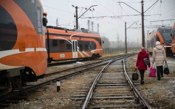 Расписание поездов из Таллинна на Нарву, Раквере и Аэгвийду изменится с 22 мая