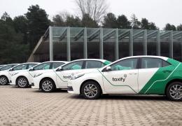 С ноября в Нарве можно будет вызвать такси через приложение Taxify