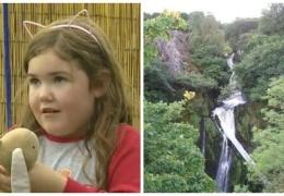 В Великобритании 6-летняя девочка упала в водопад высотой 30 метров и чудом осталась жива