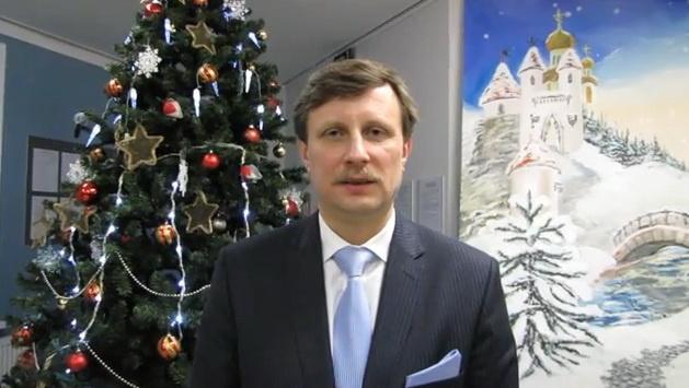 Новогоднее поздравление мэра Нарвы