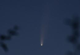 В Эстонии можно увидеть пролетающую мимо Земли комету