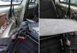 В Польше пограничники задешево толкают авто контрабандистов