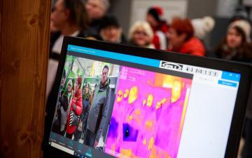 В школах Таллинна стали устанавливать тепловизоры, эксперт не видит в них смысла