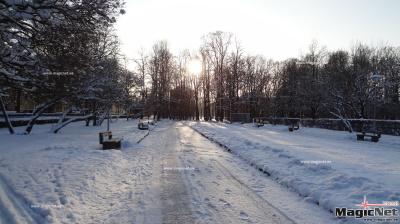 Парк у ДК Герасимова в Нарве приведут в порядок