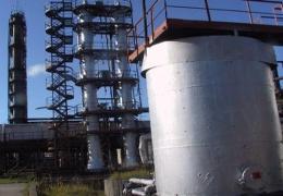 На химическом предприятии в Кохтла-Ярве горел резервуар с растворителем