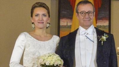 У Эстонии появилась новая первая леди - президент Ильвес женился на Иеве Купце