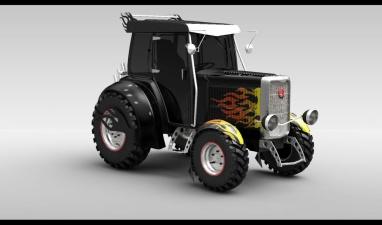 Германская полиция 40 минут преследовала на скорости 20 км/ч угнанный трактор
