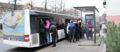 Нарве нужны дополнительные автобусные рейсы