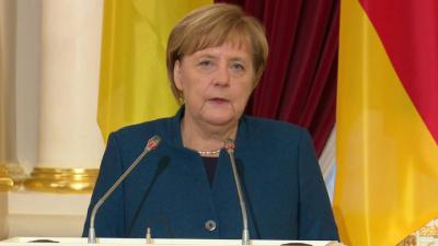 Меркель едет в Москву не из-за убийства Сулеймани