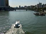 В Токио появился необычный корабль в виде застёжки