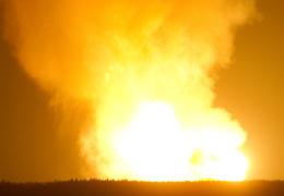 Под Полтавой взорвался газопровод