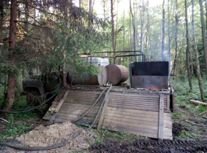 В Белоруссии задержали лесника-самогонщика