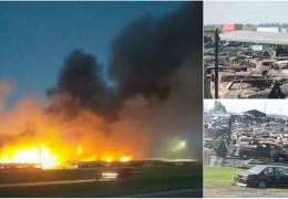150 ретромобилей уничтожено во время пожара в Иллинойсе