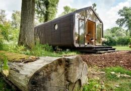 Голландцы создали полнофункциональный дом из картона