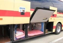 Как отдыхают водители автобусов дальнего следования