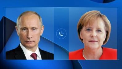 Путин и Меркель обсудили транзит газа и Сирию