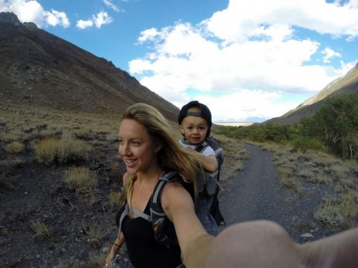 Двухлетний путешественник уже прошел около 300 миль