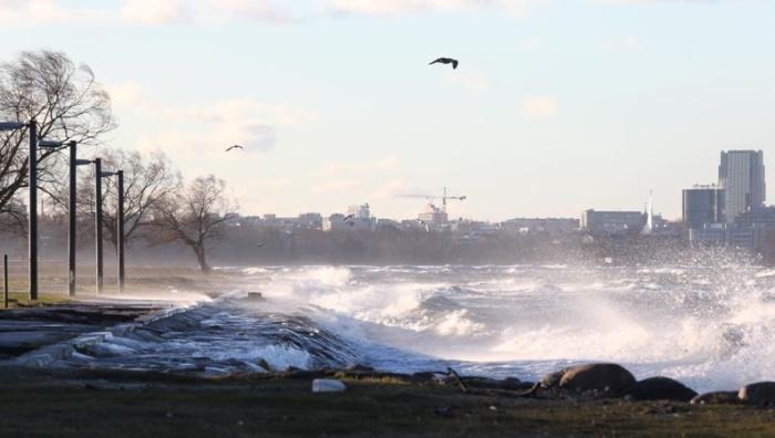 На Эстонию обрушится сильный шторм