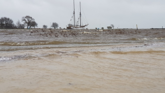 В Курессааре к ночи ожидается наводнение